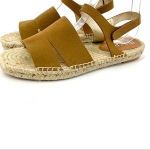 Maypol brown suede espadrille sandal 40/9